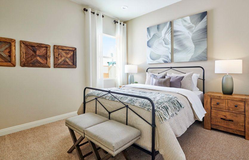 Bedroom featured in the Solitude By Del Webb in Riverside-San Bernardino, CA