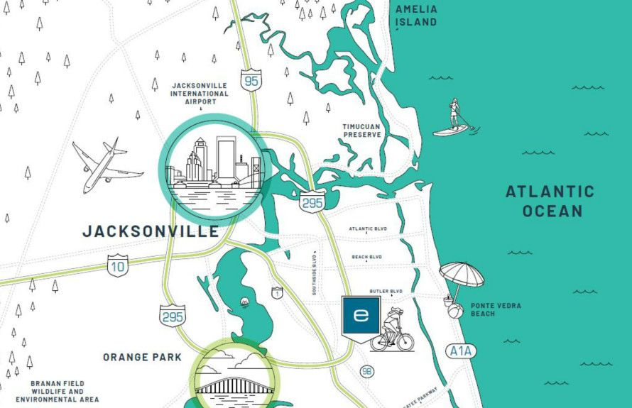 'Del Webb eTown' by Del Webb - Florida - Jacksonville in Jacksonville-St. Augustine