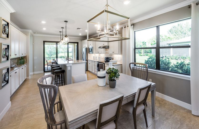 Kitchen-in-Crestview-at-Cypress Falls at The Woodlands-in-North Port