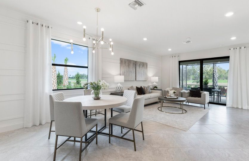 Living Area featured in the Cascadia By Del Webb in Sarasota-Bradenton, FL