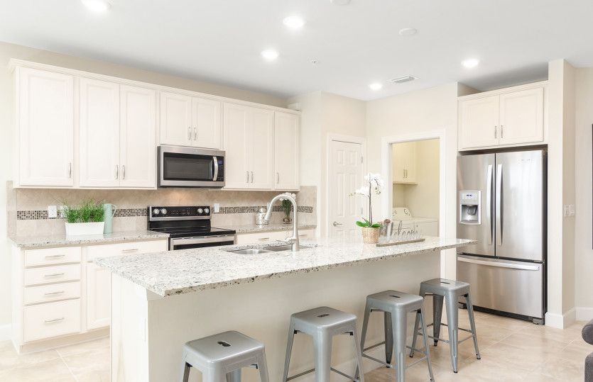 Kitchen featured in the Egret By Del Webb in Naples, FL