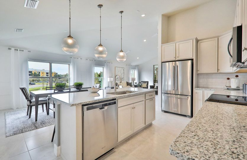 Kitchen featured in the Spoonbill By Del Webb in Naples, FL