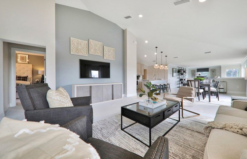 Living Area featured in the Spoonbill By Del Webb in Naples, FL