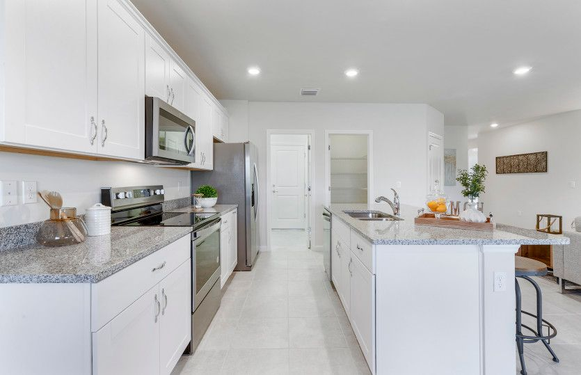 Kitchen-in-Dolce-at-Del Webb Naples-in-Ave Maria