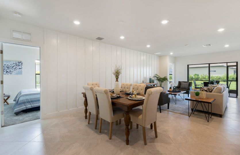 Greatroom-and-Dining-in-DeLand-at-Del Webb Naples-in-Ave Maria