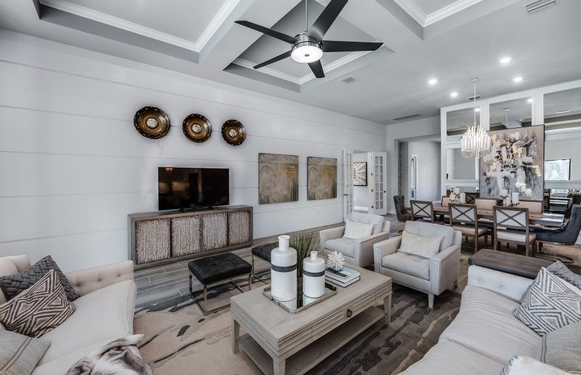Living Area featured in the Stonewater By Del Webb in Fort Myers, FL