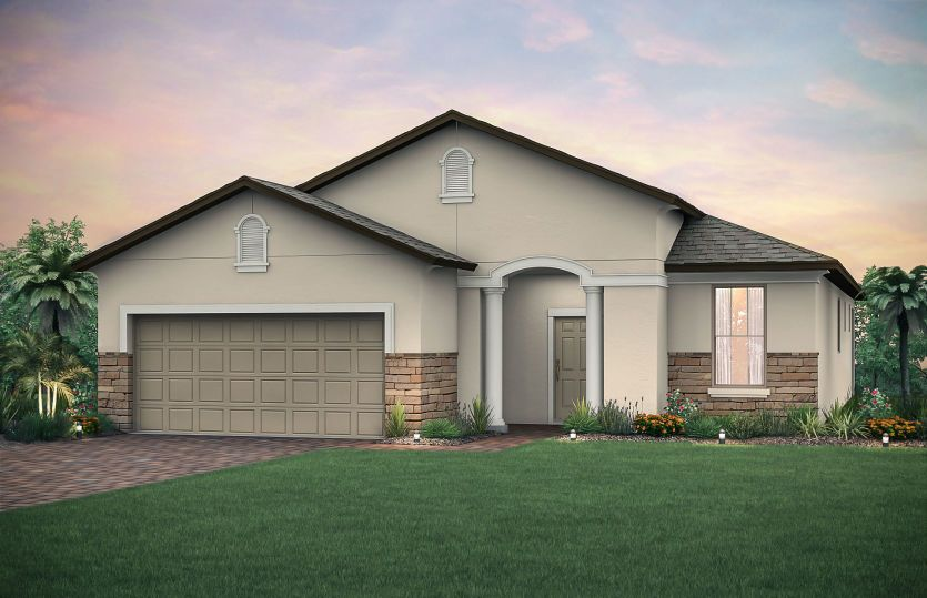 Exterior featured in the Martin Ray By Del Webb in Tampa-St. Petersburg, FL