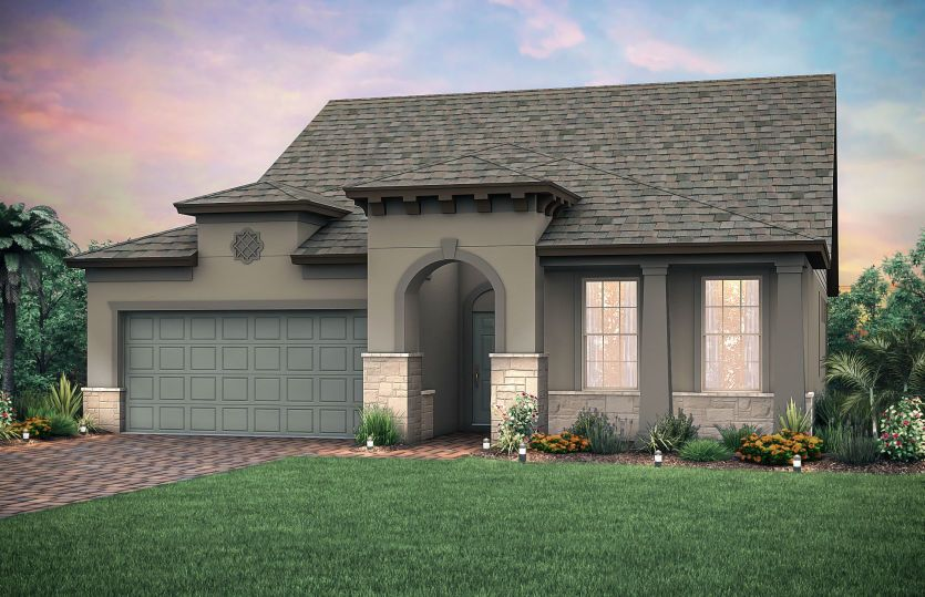 Exterior featured in the Summerwood Grand By Del Webb in Tampa-St. Petersburg, FL
