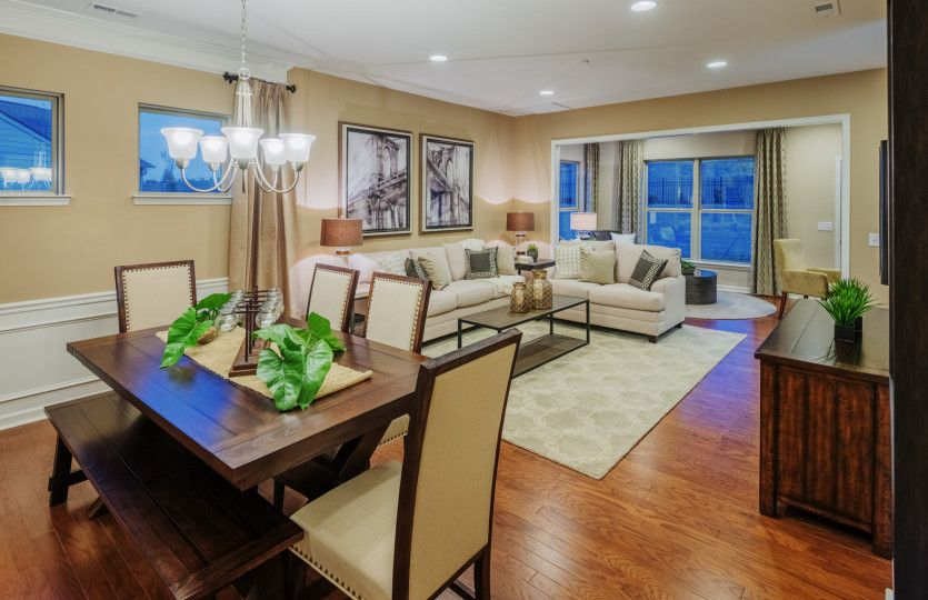 Living Area featured in the Noir Coast By Del Webb in Athens, GA