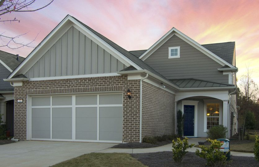 Exterior featured in the Steel Creek By Del Webb in Athens, GA