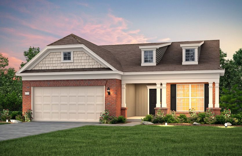 Exterior featured in the Martin Ray By Del Webb in Athens, GA