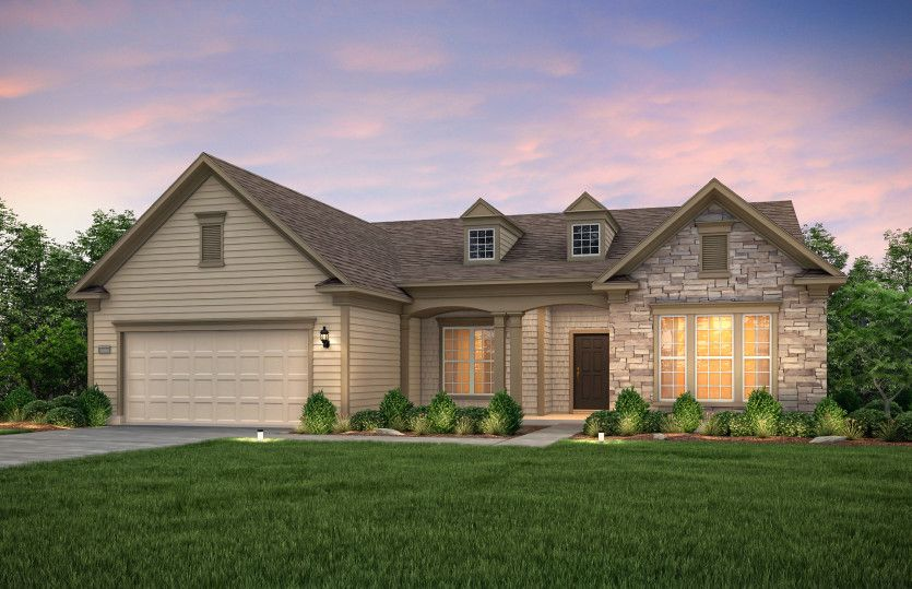 Exterior featured in the Dunwoody Way By Del Webb in Athens, GA