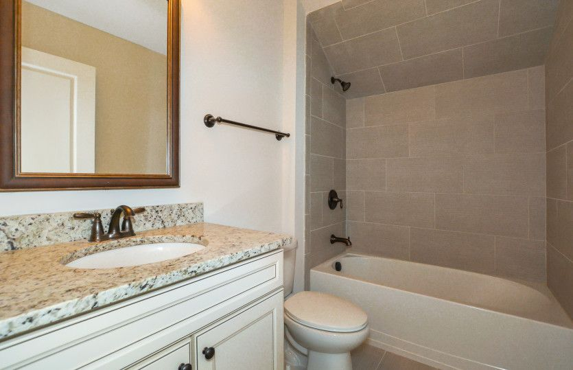 Bathroom featured in the Sonoma Cove By Del Webb in Athens, GA