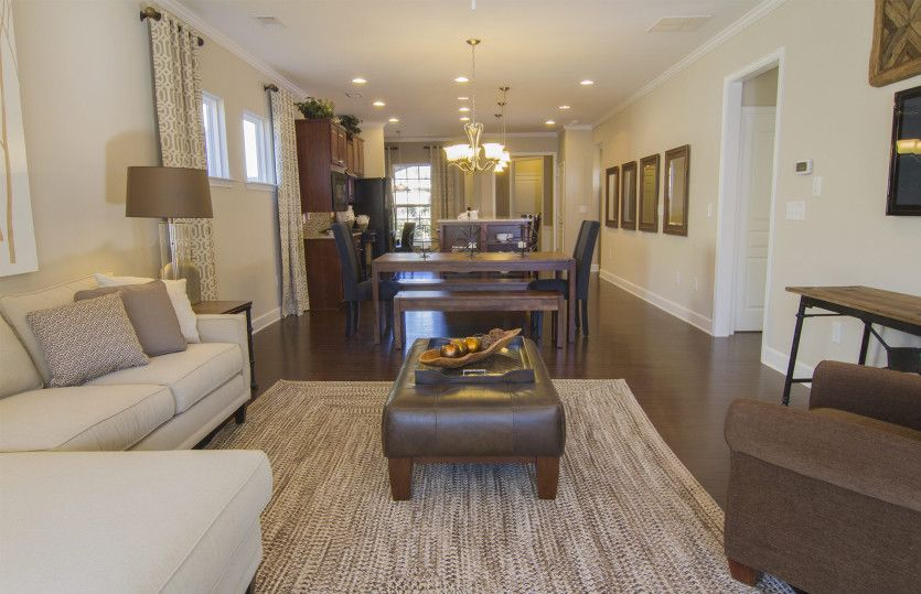Greatroom-and-Dining-in-Steel Creek-at-Del Webb Chateau Elan-in-Hoschton