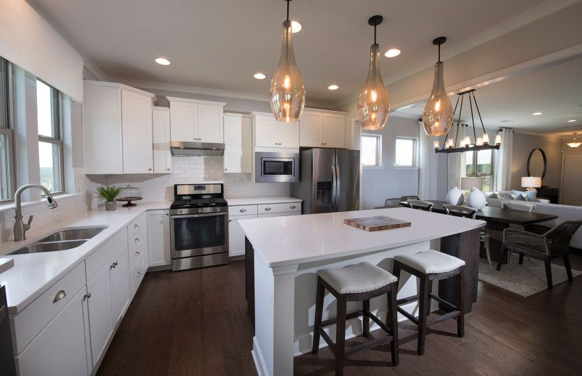 Kitchen featured in the Taft Street By Del Webb in Atlanta, GA