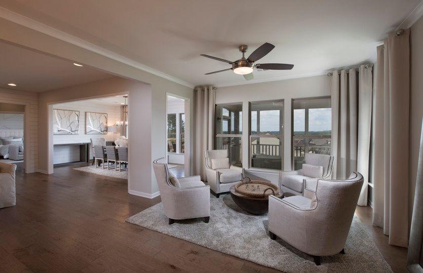 Living Area featured in the Dunwoody Way By Del Webb in Atlanta, GA
