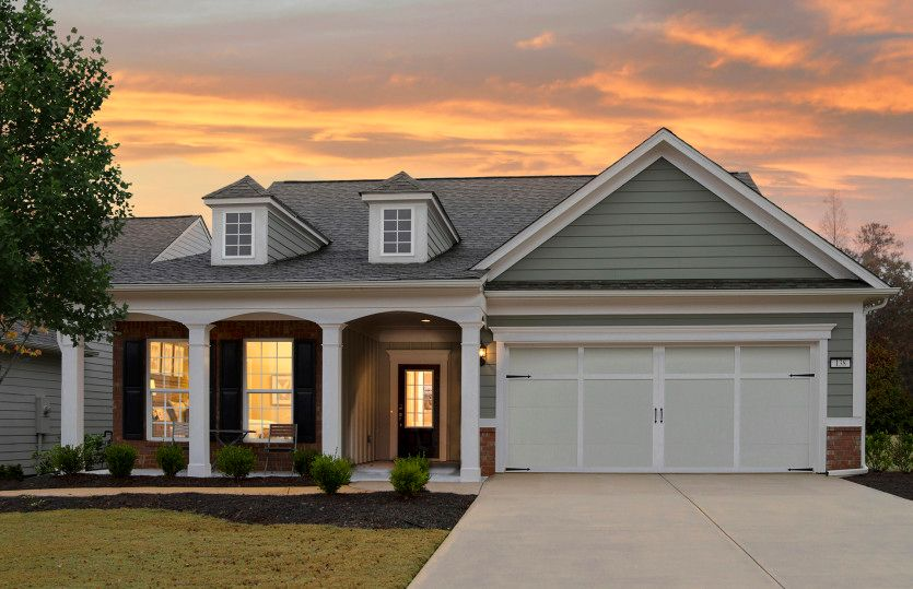 Exterior featured in the Abbeyville By Del Webb in Atlanta, GA