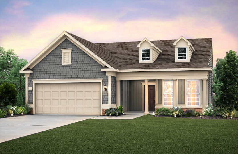 Exterior featured in the Martin Ray By Del Webb in Atlanta, GA