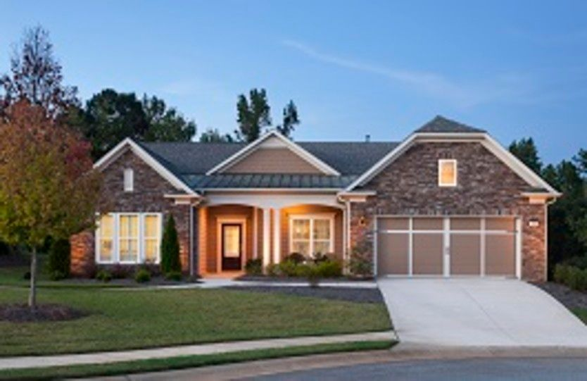 Exterior featured in the Dunwoody Way By Del Webb in Atlanta, GA