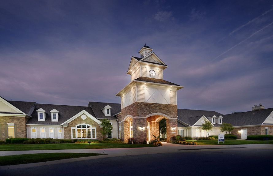 'Britton Falls' by Del Webb - Indiana - Indianapolis in Indianapolis