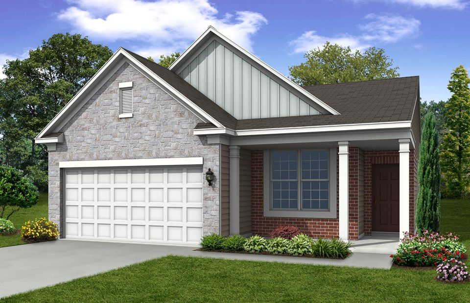 Exterior featured in the Discover By Del Webb in Indianapolis, IN