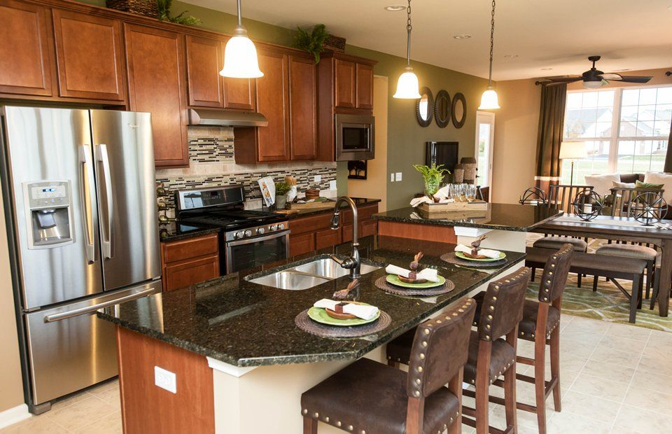 Kitchen featured in the Discover By Del Webb in Indianapolis, IN