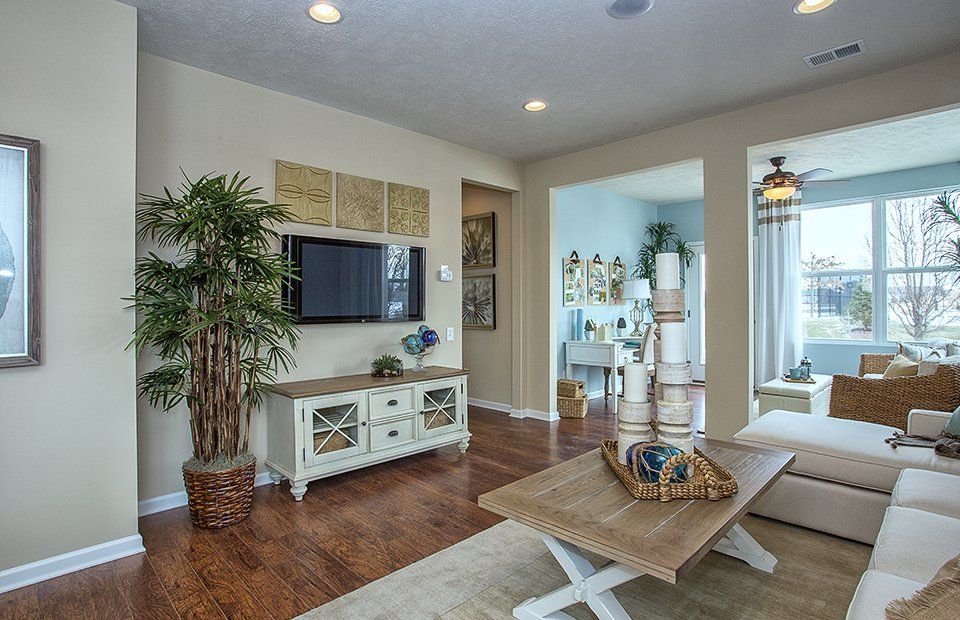 Living Area featured in the Trailblazer By Del Webb in Indianapolis, IN