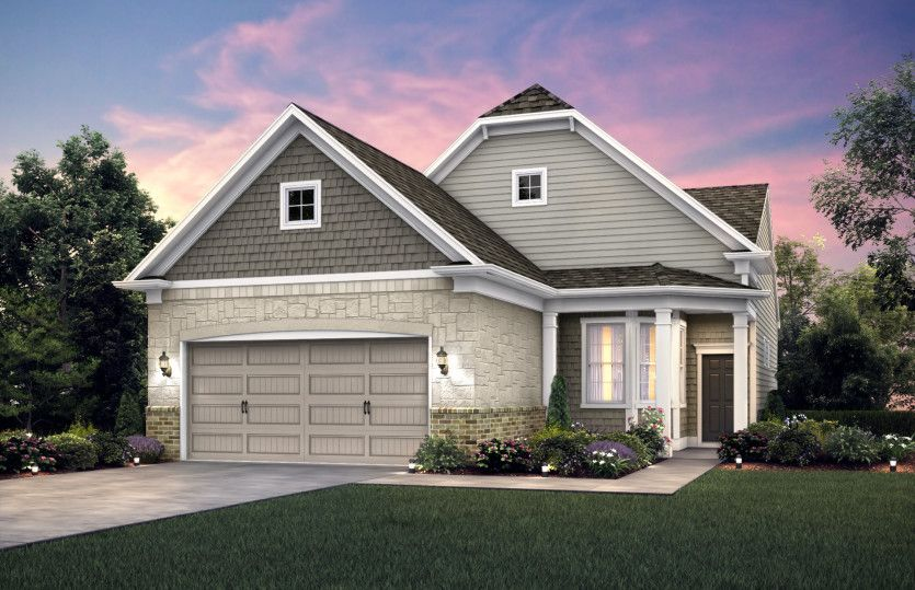 Exterior featured in the Noir Hill By Del Webb in Indianapolis, IN