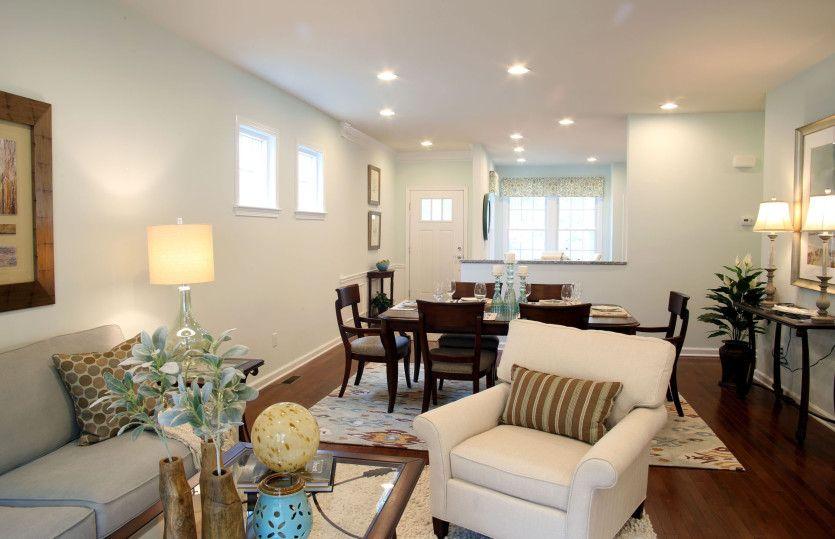 Living Area featured in the Noir Hill By Del Webb in Indianapolis, IN