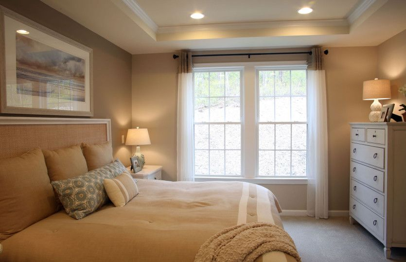 Bedroom featured in the Noir Hill By Del Webb in Indianapolis, IN