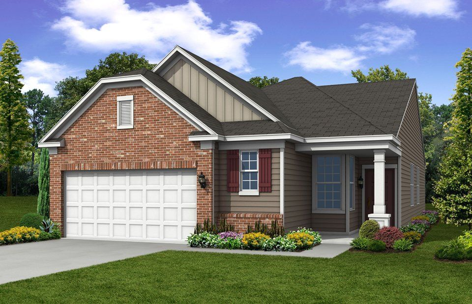 Exterior featured in the Passport By Del Webb in Indianapolis, IN