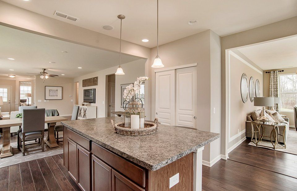 Kitchen featured in the Passport By Del Webb in Indianapolis, IN