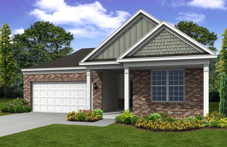 Exterior featured in the Abbeyville By Del Webb in Indianapolis, IN