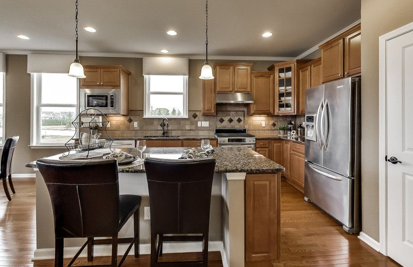 Kitchen featured in the Abbeyville By Del Webb in Indianapolis, IN