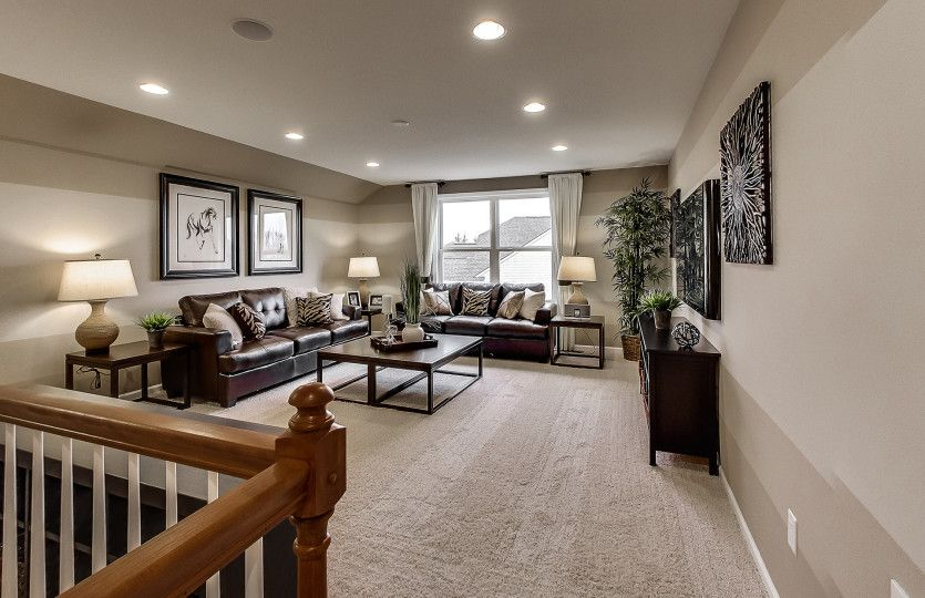 Living Area featured in the Abbeyville By Del Webb in Indianapolis, IN