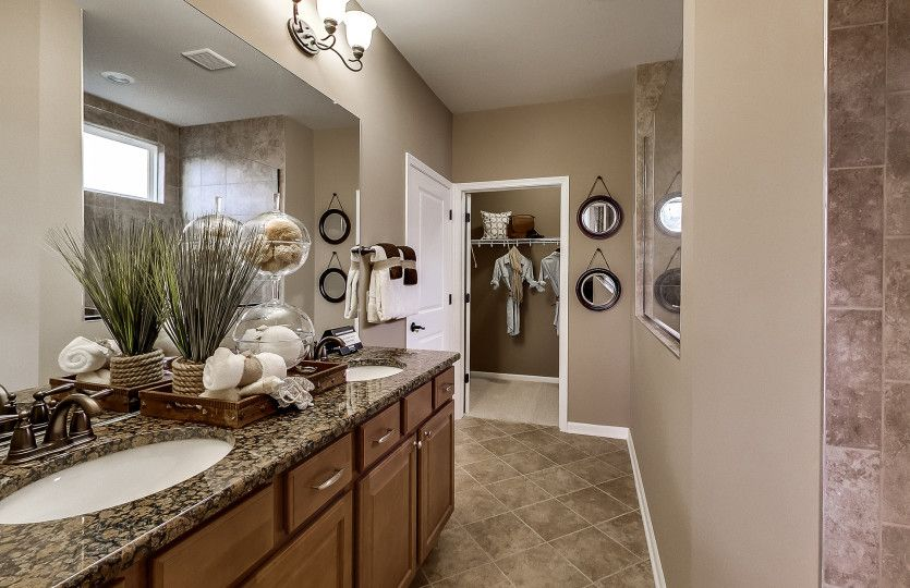 Bathroom featured in the Abbeyville By Del Webb in Indianapolis, IN