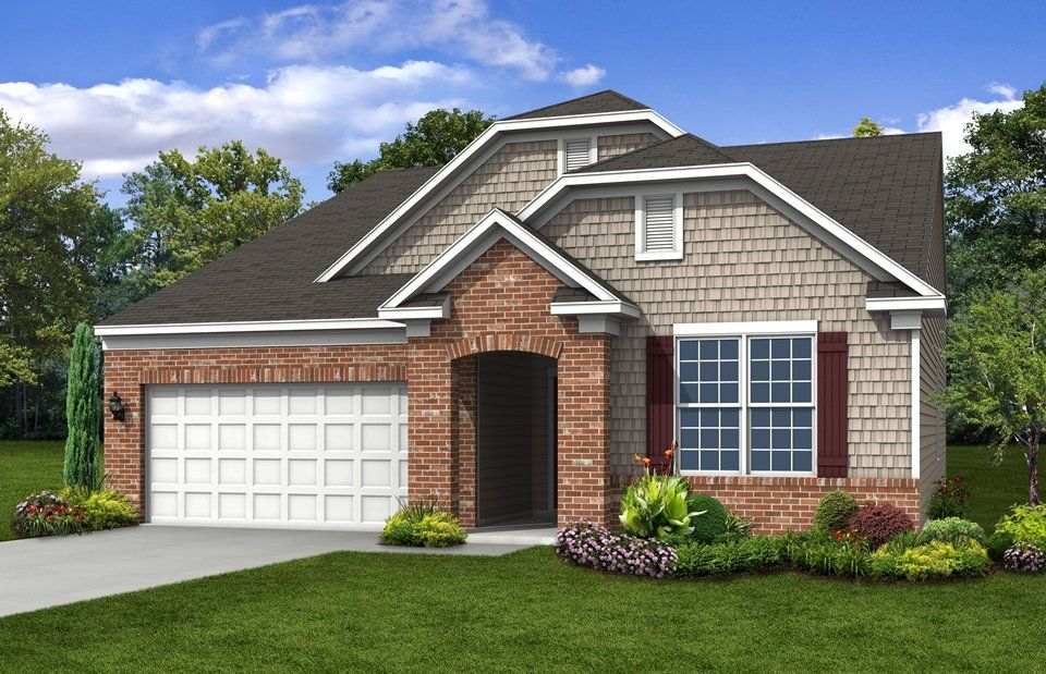 Exterior featured in the Ascend By Del Webb in Indianapolis, IN