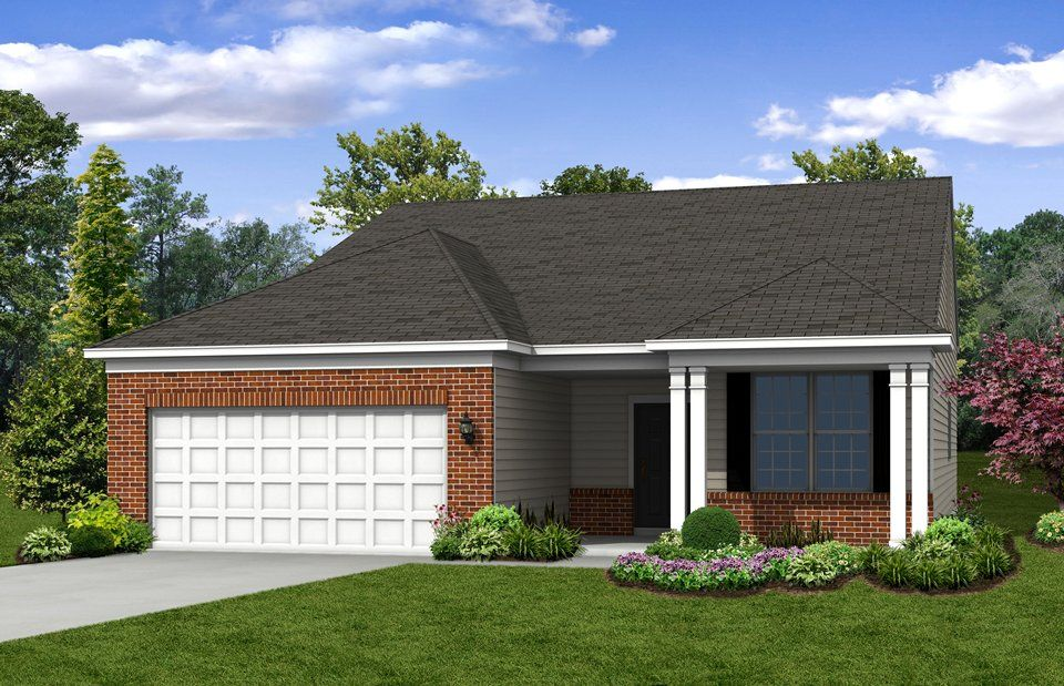 Exterior featured in the Martin Ray By Del Webb in Indianapolis, IN