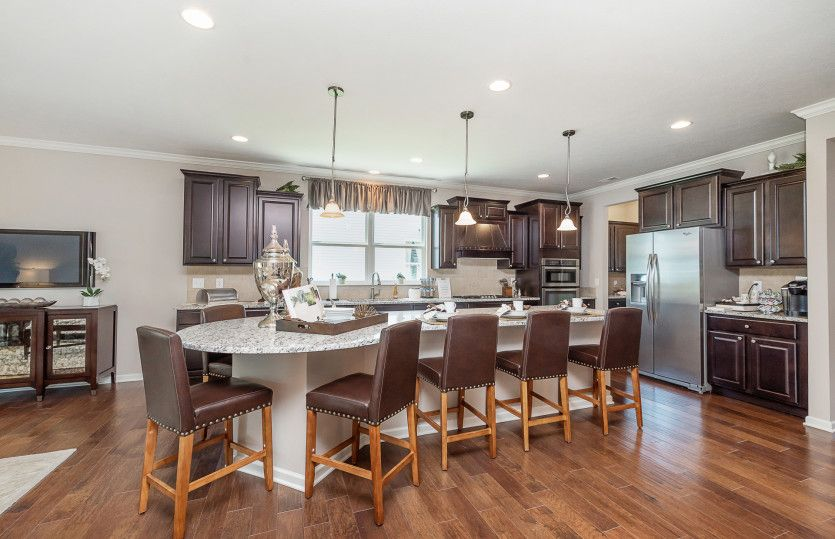 Kitchen featured in the Martin Ray By Del Webb in Indianapolis, IN