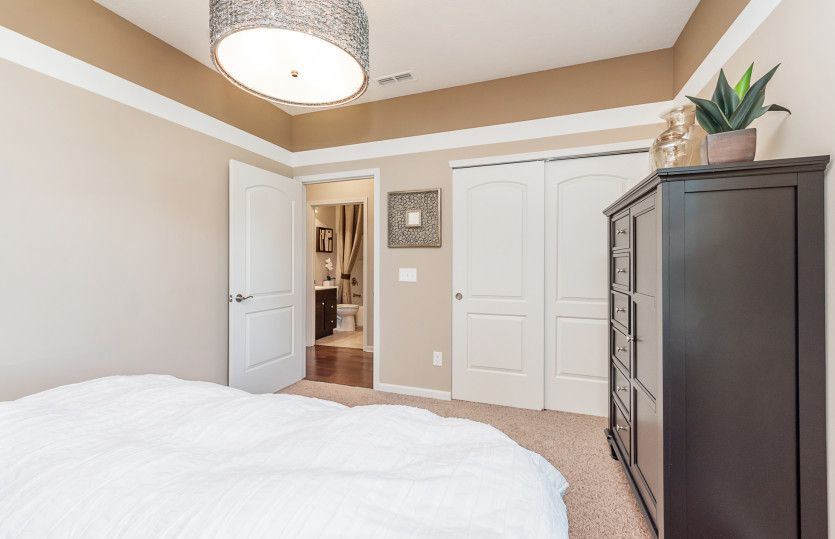 Bedroom featured in the Martin Ray By Del Webb in Indianapolis, IN