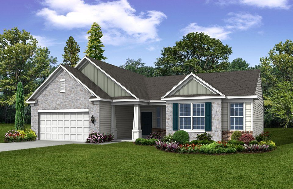 Exterior featured in the Frederick Bay By Del Webb in Indianapolis, IN