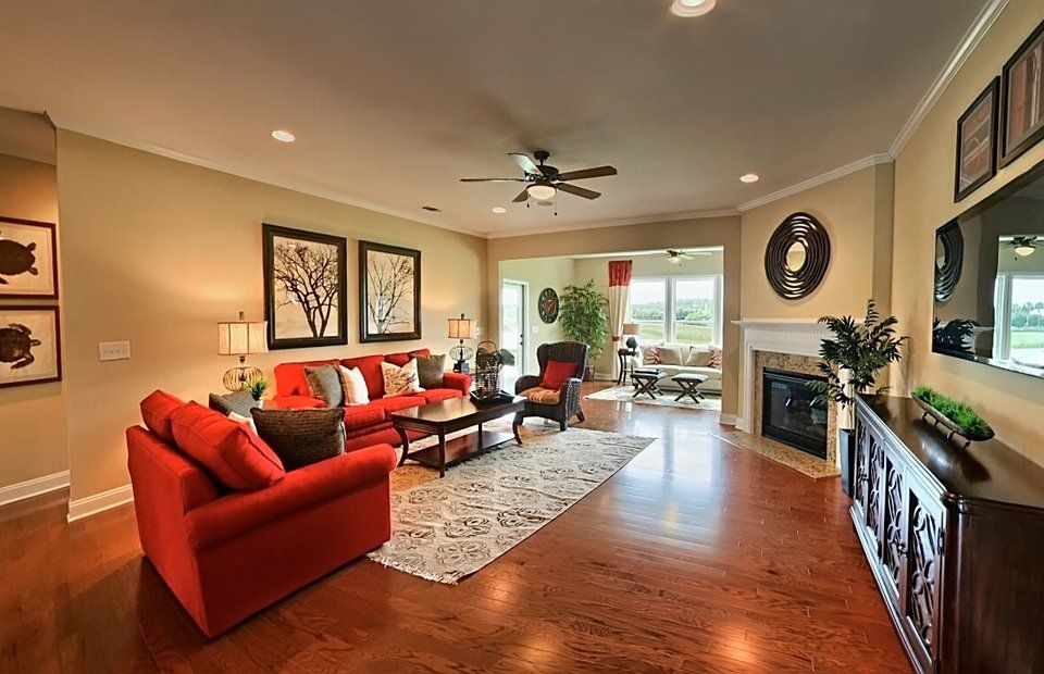 Living Area featured in the Frederick Bay By Del Webb in Indianapolis, IN