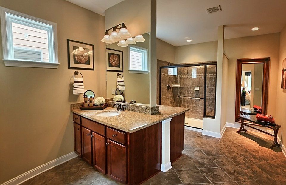 Bathroom featured in the Frederick Bay By Del Webb in Indianapolis, IN