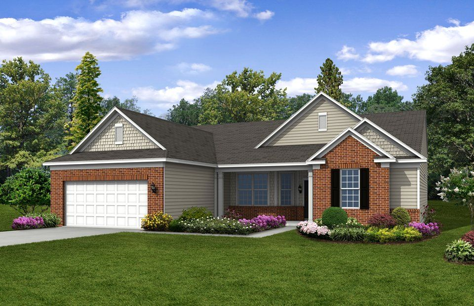 Exterior featured in the Napa Valley By Del Webb in Indianapolis, IN