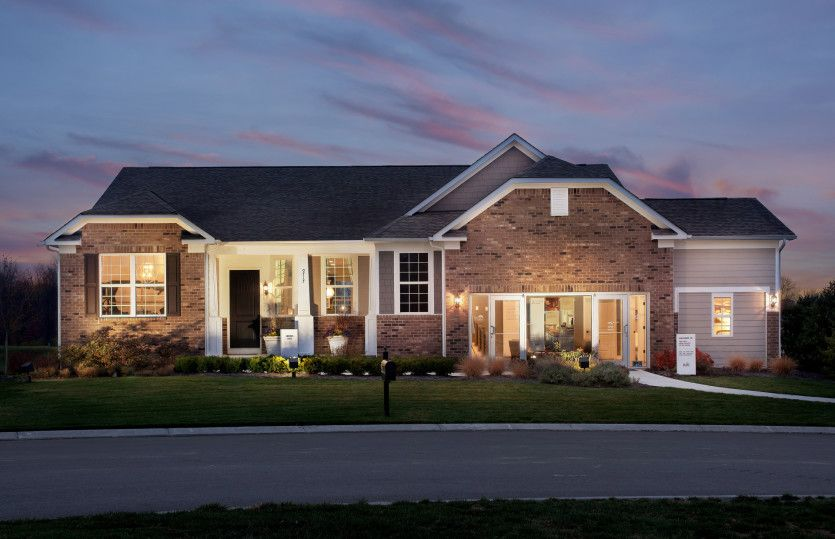 Exterior featured in the Sonoma Cove By Del Webb in Indianapolis, IN