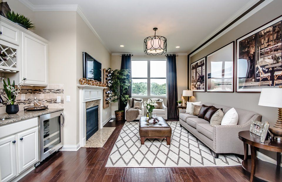 Living Area featured in the Sonoma Cove By Del Webb in Indianapolis, IN
