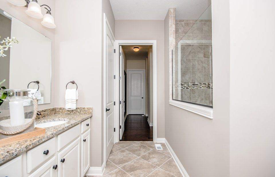 Bathroom featured in the Sonoma Cove By Del Webb in Indianapolis, IN