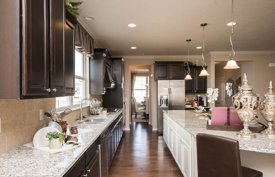 Kitchen-in-Martin Ray-at-Vandalia by Del Webb-in-Plainfield