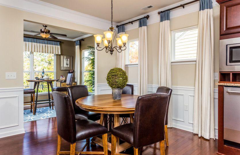 Breakfast-Room-in-Abbeyville-at-Carolina Arbors by Del Webb-in-Durham