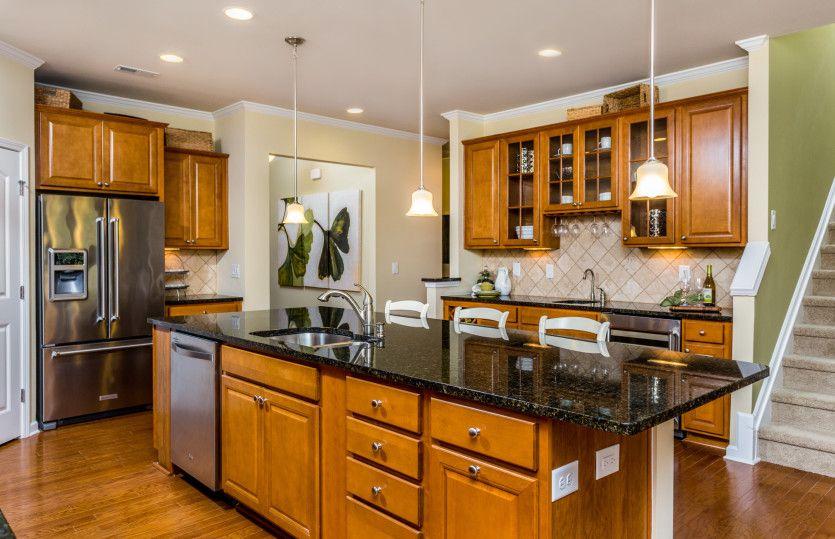 Kitchen-in-Castle Rock-at-Carolina Arbors by Del Webb-in-Durham